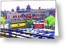 Chinatown Chicago 1 Greeting Card