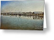 Chincoteague Bay Greeting Card