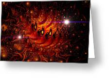 Chinese Dragon Galaxy Greeting Card