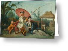 Chinese Motif Greeting Card