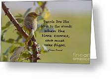 Chinese Proverb Greeting Card