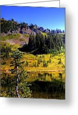 Chinook Pass Greeting Card