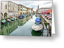 Chioggia Venice Italy Greeting Card