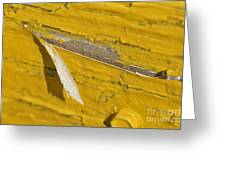 Chipped Paint Greeting Card