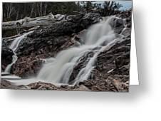 Chippewa Cascade Greeting Card