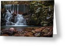 Chiricahua Mountain Snow Melt Greeting Card