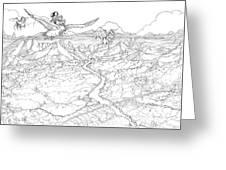 Chiricahua Mountains Greeting Card