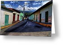 Chirimena Houses Greeting Card