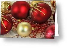 Chirstmas Ornaments Greeting Card