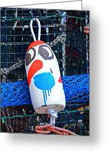 Chistmas Buoy Decoration 657 Greeting Card