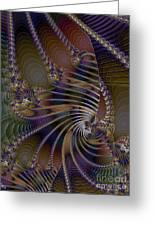 Chitin Layers Greeting Card