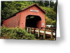 Chitwood Covered Bridge Greeting Card