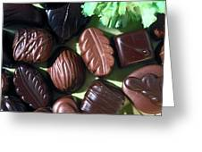 Chocolate Candy Greeting Card