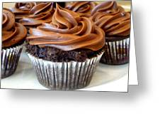 Chocolate Cupcakes Greeting Card