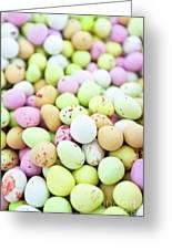 Chocolate Eggs Greeting Card