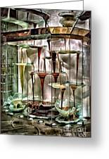 Chocolate Fountain In Bellagio Greeting Card