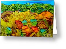 Chocolate Hills Pilippines Greeting Card