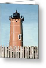 Chocolate Lighthouse Greeting Card