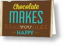 Chocolate Greeting Card