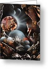 Chocolate Planet Greeting Card
