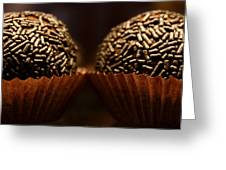 Chocolate Truffles Greeting Card
