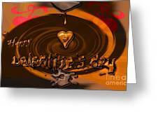Chocolate Valentine Greeting Card