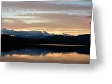 Chocorua At Sunset 2 Greeting Card