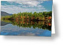 Chocorua Lake Reflection Greeting Card