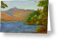Chocorua Greeting Card by Sharon E Allen