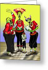 Choir Practice Greeting Card