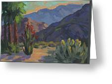 Cholla At Smoketree Ranch Greeting Card