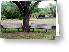 Choose Your Bench Greeting Card