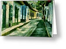 Choroni - Venezuela Greeting Card