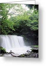 Chosi Otaki Falls Greeting Card