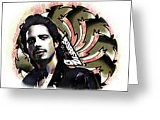 Chris Cornell Greeting Card