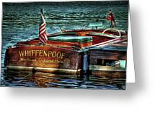 Chris Craft Continental - 1958 Greeting Card