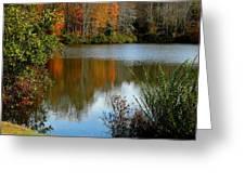 Chris Greene Lake - Reflections Greeting Card
