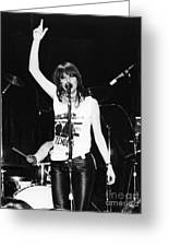 Chrissie Hynde 1980 San Francisco Greeting Card