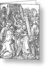 Christ Bearing The Cross 1509 Greeting Card