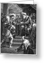 Christ Before Pilate Greeting Card by Granger