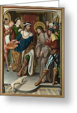 Christ Before Pilate Greeting Card
