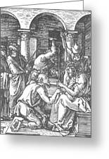 Christ Being Crowned With Thorns 1510 Greeting Card