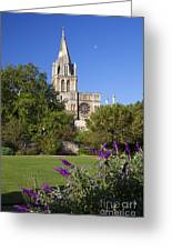 Christ Church Cathedral Oxford University Uk Greeting Card