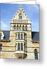 Christ Church College Oxford Architecture Greeting Card