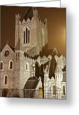 Christ Church Dublin Ireland Greeting Card