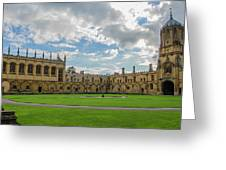 Christ Church Tom Quad Greeting Card