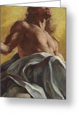 Christ In Glory  Detail Greeting Card