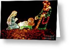 Christ Is Christmas Greeting Card