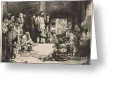 Christ Preaching (la Petite Tombe) Greeting Card