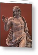 Christ Statue. The Louvre Greeting Card